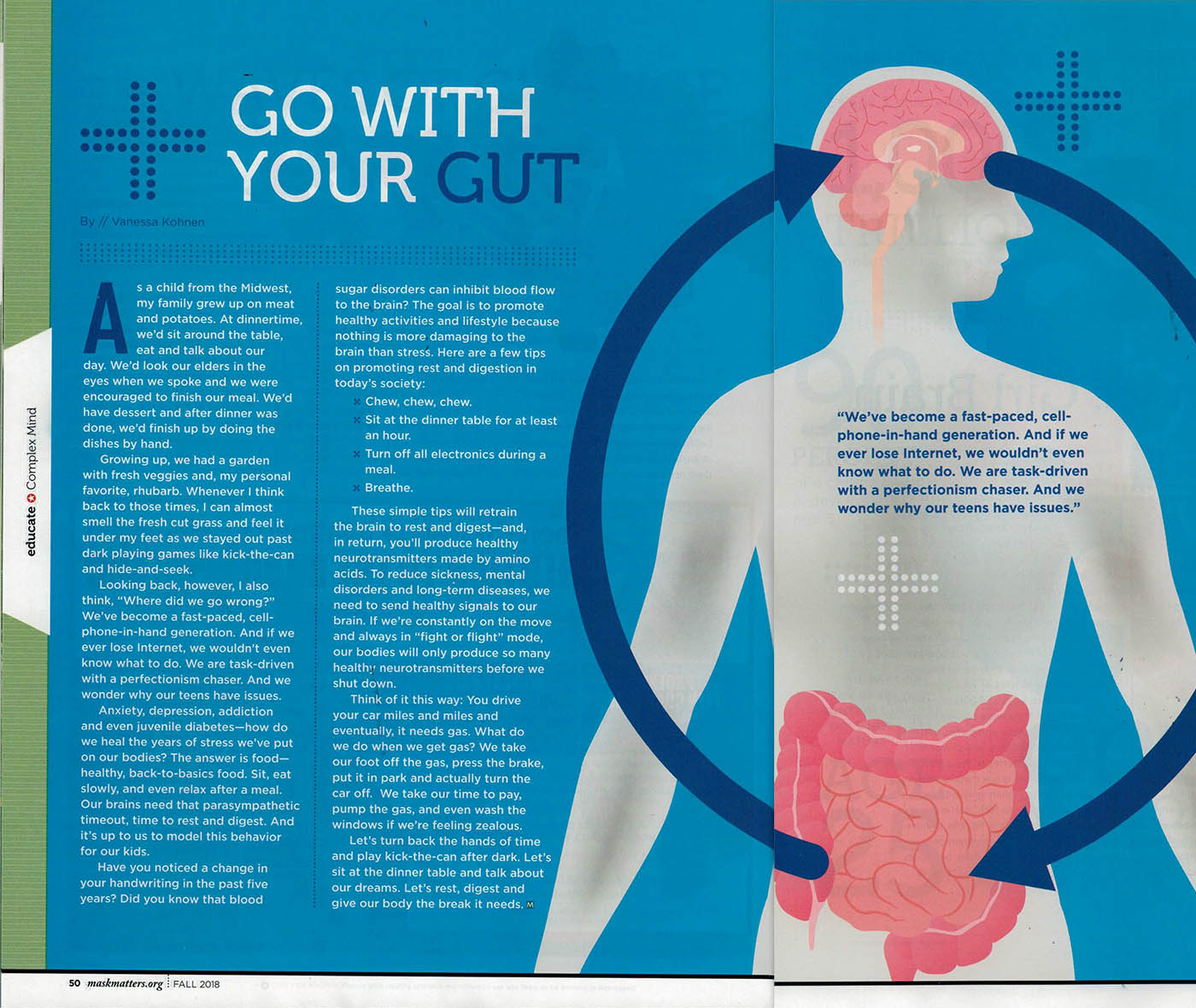 go with your gut article